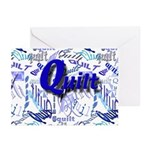Quilt Blue Greeting Cards (Pk of 20)