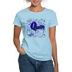 Quilt Blue Women's Light T-Shirt