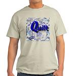 Quilt Blue Light T-Shirt