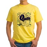 Quilt Blue Yellow T-Shirt