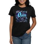 Quilt Blue Women's Dark T-Shirt