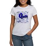 Quilt Blue Women's T-Shirt