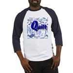 Quilt Blue Baseball Jersey