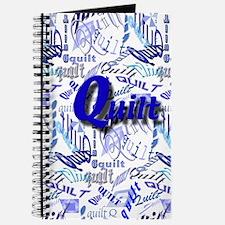 Quilt Blue Journal