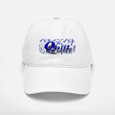 Quilt Blue Baseball Baseball Cap