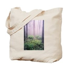 Misty Forest Photo, Victoria Tote Bag