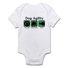 Dog Agility Infant Bodysuit