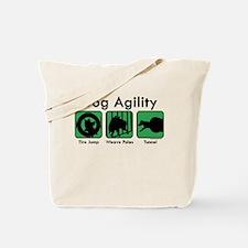 Dog Agility Tote Bag