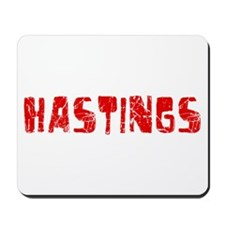 Hastings Faded (Red) Mousepad