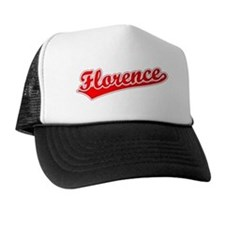 Retro Florence (Red) Trucker Hat