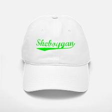 Vintage Sheboygan (Green) Baseball Baseball Cap