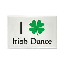 Irish Dance Rectangle Magnet