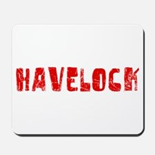 Havelock Faded (Red) Mousepad
