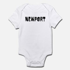 Newport Faded (Black) Infant Bodysuit