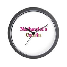 Nathaniel's Cousin Wall Clock