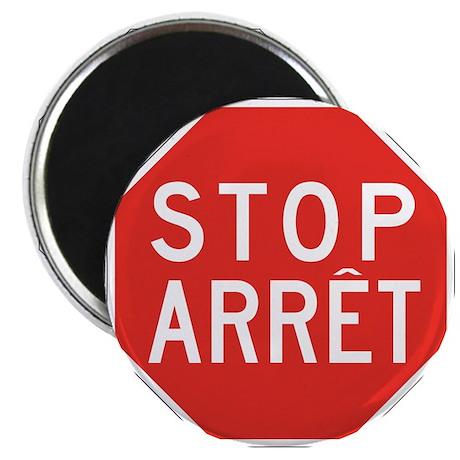 Stop/Arret, Canada Magnet