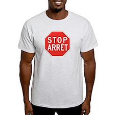 Stop/Arret, Canada T-Shirt