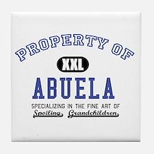 Property of Abuela Tile Coaster