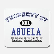 Property of Abuela Mousepad