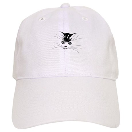 Silhouette Kitten Cap