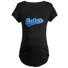 Retro Qatar (Blue) T-Shirt