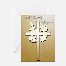Masonic Sympathy Greeting Card