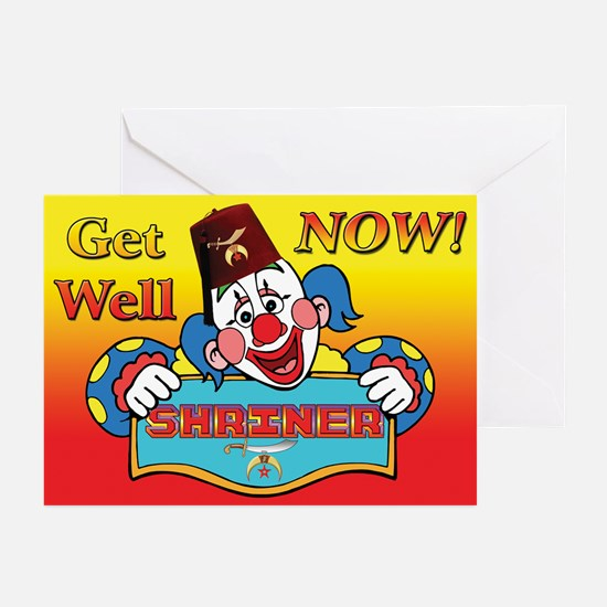 Shriners get well Greeting Cards (Pk of 20)