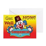 Shriners get well Greeting Cards (Pk of 10)