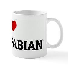 I Love AVERY FABIAN Mug