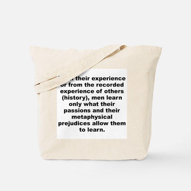Cute Huxley quotation Tote Bag