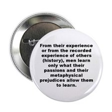 "Aldous huxley quote 2.25"" Button (100 pack)"
