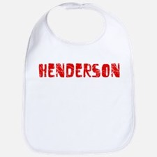 Henderson Faded (Red) Bib