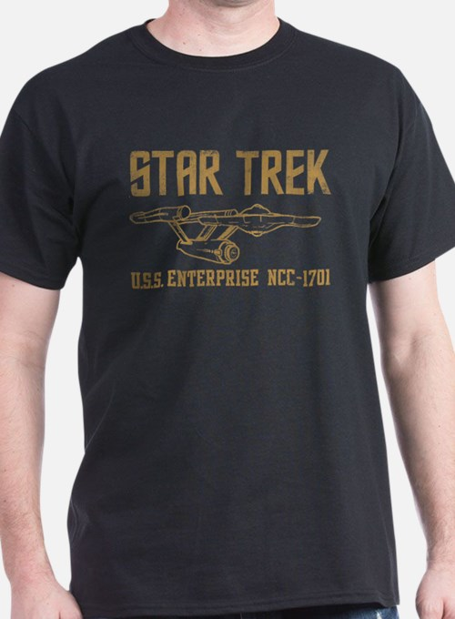 ST Vintage USS Enterprise T-Shirt