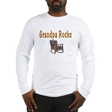 Grandpa Rocks Long Sleeve T-Shirt