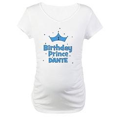 Dante 1st Birthday Prince! Shirt