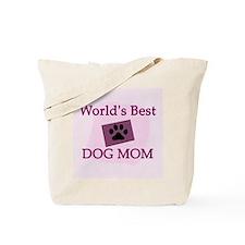 Best Dog Mom Tote Bag