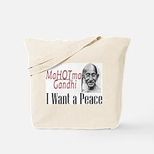 I Want a Peace Tote Bag