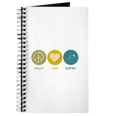 Peace Love Poetry Journal