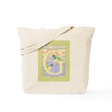 Lady Gouldian Finch Tote Bag