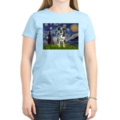Starry / Catahoula Leopard Dog T-Shirt