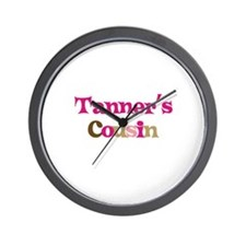 Tanner's Cousin Wall Clock