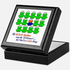Different FROGS 1 (Nephew) Keepsake Box
