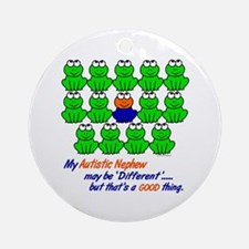 Different FROGS 1 (Nephew) Ornament (Round)