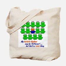 Different FROGS 1 (Nephew) Tote Bag