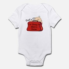 Going to Mimi's Funny Infant Bodysuit