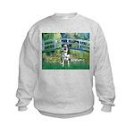 Bridge / Catahoula Leopard Dog Kids Sweatshirt