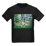Bridge / Catahoula Leopard Dog Kids Dark T-Shirt