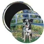 Bridge / Catahoula Leopard Dog Magnet