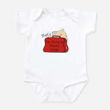 Going to Nana's Funny Infant Bodysuit