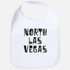 North Las Ve.. Faded (Black) Bib